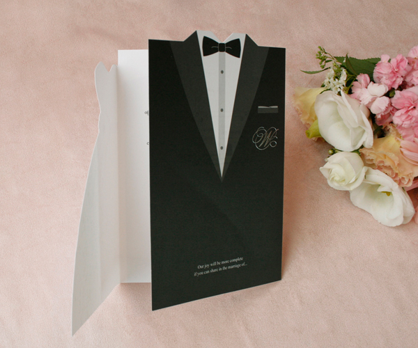 Wedding Invitation By Bride And Groom Wording Samples: 1Sample Set Bride And Groom Wedding Invitations Dress And