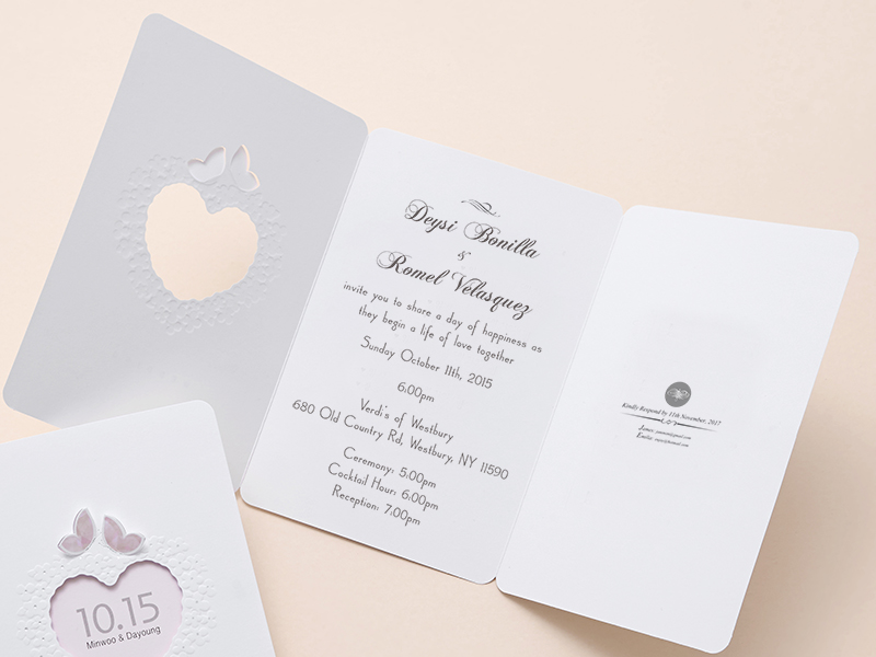 Cheap Butterfly Wedding Invitations: Pink Butterfly Wedding Invitations Cheap Cards Free Proof